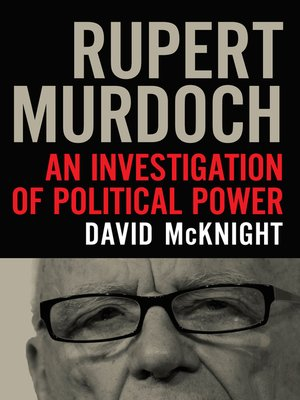 cover image of Rupert Murdoch