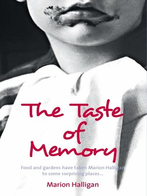 cover image of The Taste of Memory