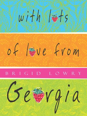 cover image of With Lots of Love from Georgia