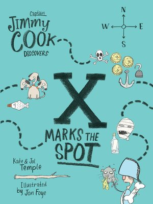 cover image of Captain Jimmy Cook Discovers X Marks the Spot