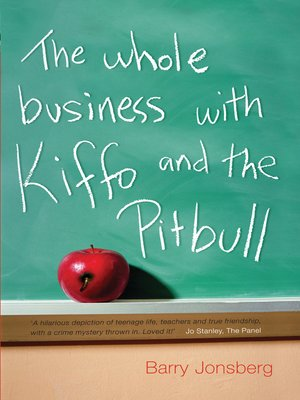 cover image of The Whole Business with Kiffo and the Pitbull
