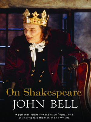cover image of On Shakespeare