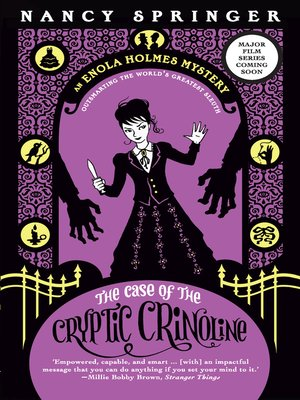cover image of The Case of the Cryptic Crinoline