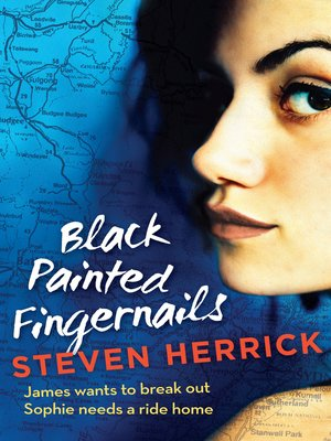 cover image of Black Painted Fingernails