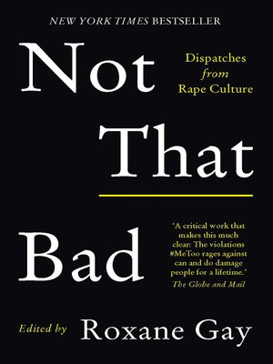 cover image of Not That Bad