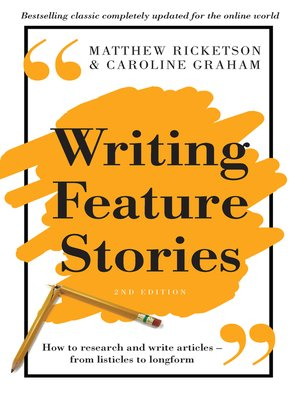 cover image of Writing Feature Stories