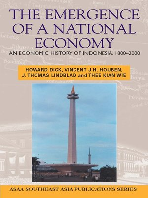 cover image of Emergence of a National Economy