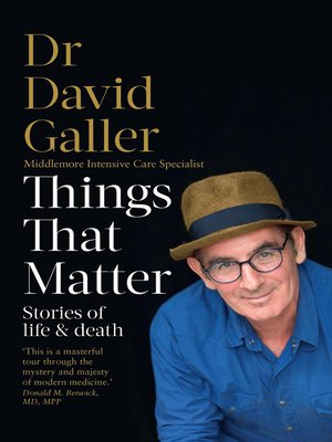 cover image of Things That Matter