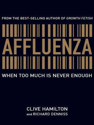 cover image of Affluenza