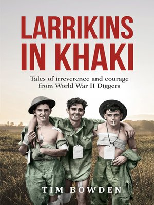 cover image of Larrikins in Khaki
