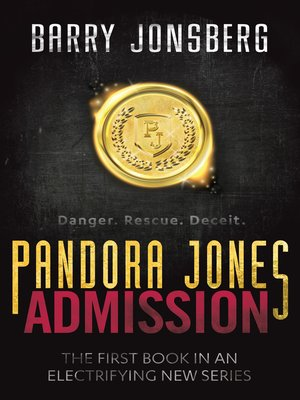 cover image of Pandora Jones: Admission