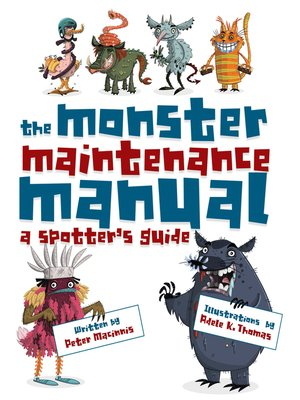 cover image of The Monster Maintenance Manual