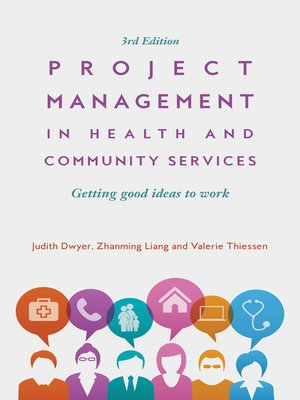 cover image of Project Management in Health and Community Services
