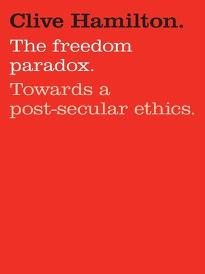 cover image of The Freedom Paradox