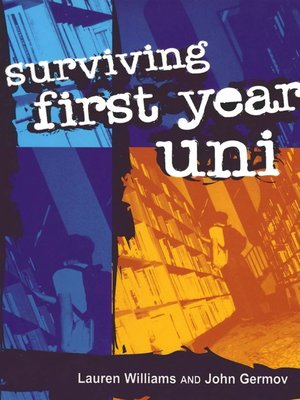 cover image of Surviving First Year Uni