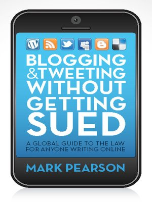 cover image of Blogging and Tweeting without Getting Sued
