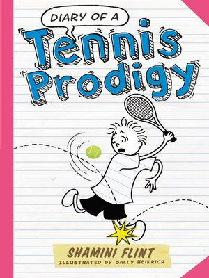 cover image of Diary of a Tennis Prodigy