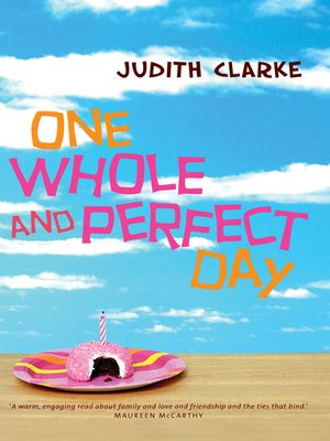 cover image of One Whole and Perfect Day