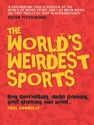 cover image of The World's Weirdest Sports