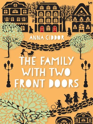 cover image of The Family with Two Front Doors