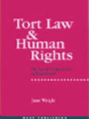 cover image of Tort Law & Human Rights