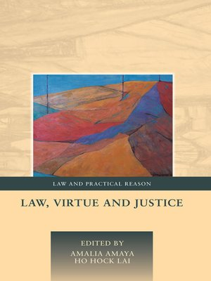 cover image of Law, Virtue and Justice