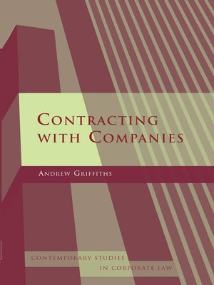cover image of Contracting with Companies