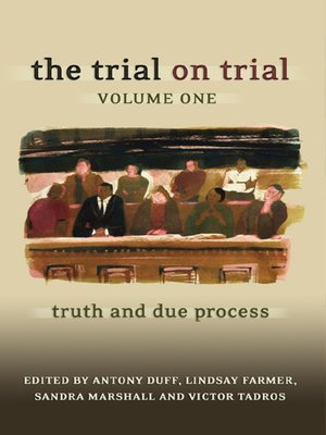 cover image of The Trial on Trial, Volume 1