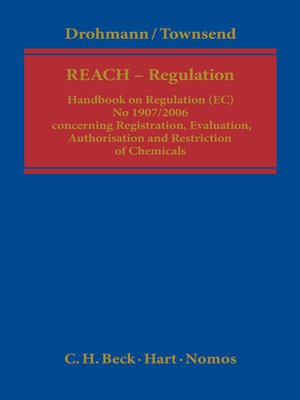 cover image of The REACH Regulation