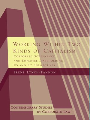 cover image of Working within Two Kinds of Capitalism
