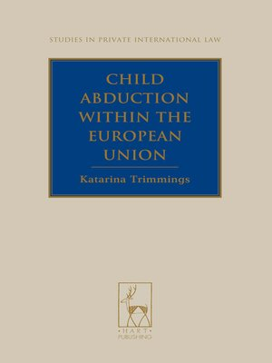 cover image of Child Abduction Within the European Union