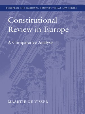 cover image of Constitutional Review in Europe