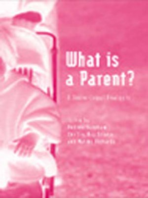 cover image of What is a Parent