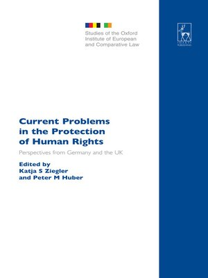 cover image of Current Problems in the Protection of Human Rights