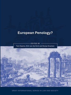 cover image of European Penology?