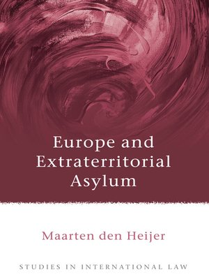 cover image of Europe and Extraterritorial Asylum