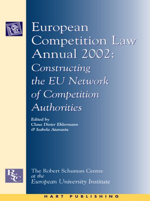 cover image of European Competition Law Annual 2002