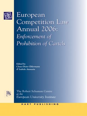cover image of European Competition Law Annual 2006