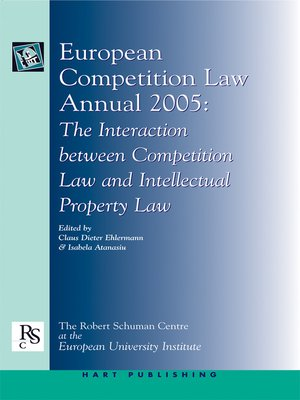 cover image of European Competition Law Annual 2005