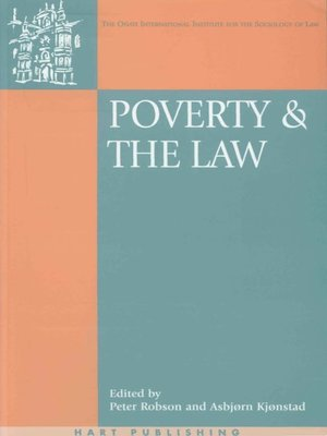 cover image of Poverty and the Law