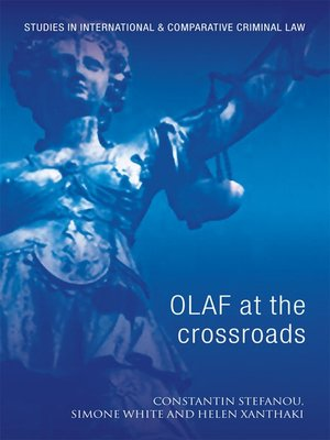 cover image of OLAF at the Crossroads