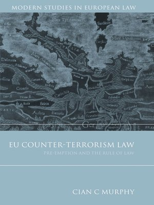 cover image of EU Counter-Terrorism Law