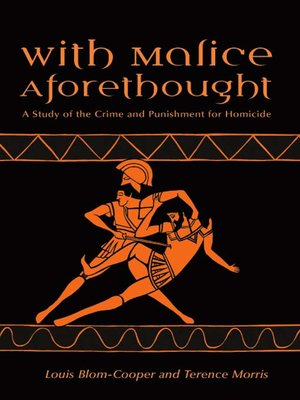 cover image of With Malice Aforethought