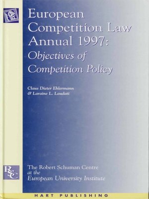 cover image of European Competition Law Annual 1997