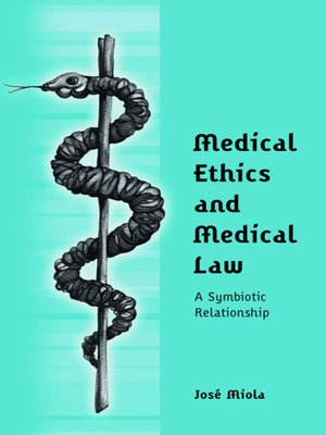 cover image of Medical Ethics and Medical Law