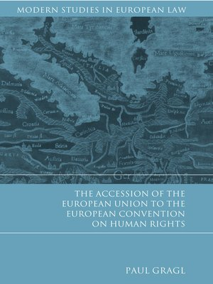 cover image of The Accession of the European Union to the European Convention on Human Rights