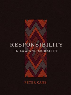 cover image of Responsibility in Law and Morality