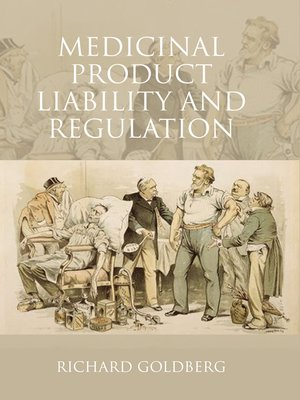 cover image of Medicinal Product Liability and Regulation
