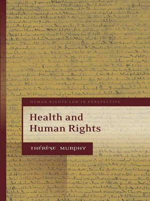 cover image of Health and Human Rights