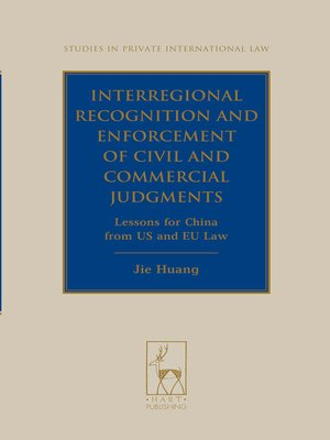 cover image of Interregional Recognition and Enforcement of Civil and Commercial Judgments